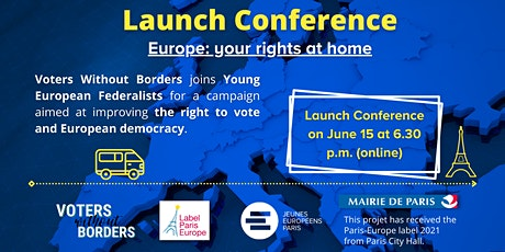 """Launching Conference """"Europe : your rights at home !"""" billets"""