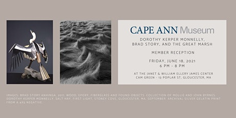 Member Reception: Dorothy Kerper Monnelly, Brad Story and The Great Marsh tickets
