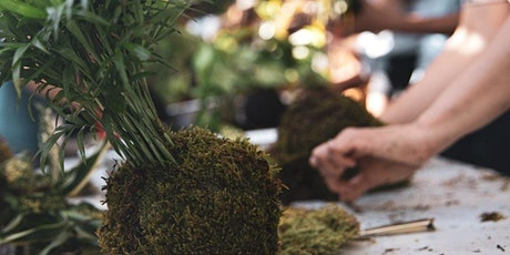 Kokedama Planter Workshop @ The Backyard Grill tickets