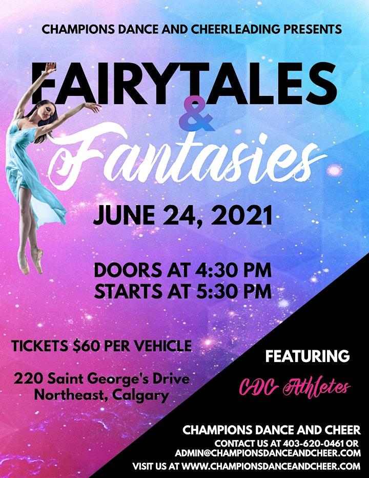 Fairytales & Fantasies - CDC Year End Showcase image