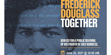 Reading Frederick Douglass Together tickets