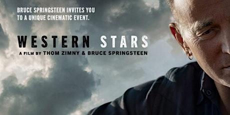 Western Stars - outdoor movie of Bruce Springsteen album performance tickets