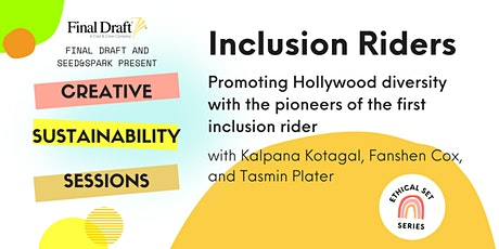 Creative Sustainability Session: Inclusion Riders tickets