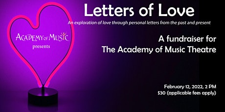 Valley Letters Project: Love Letters - An exploration of love through word tickets