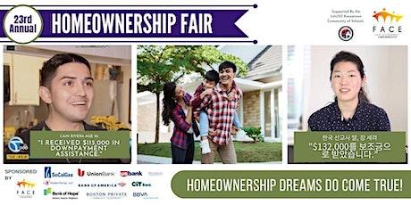 FACE's 23rd Annual Homeownership Fair biglietti