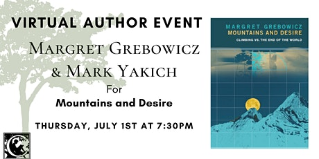 Country Bookshelf Presents: Margret Grebowicz & Mark Yakich tickets