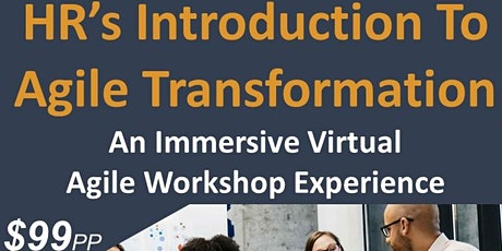 HR's Introduction To Agile Transformation, an HRCI Pre-Approved Workshop tickets