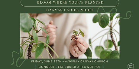Canvas Ladies Night Planting Party tickets