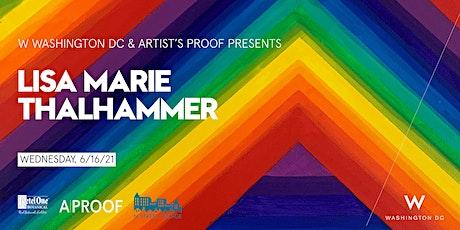 Lisa Marie Thalhammer art exhibition tickets