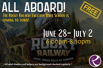 Rocky Railway Vacation Bible School tickets