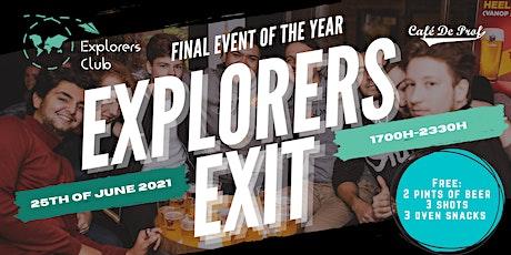 Explorers Exit 2021 tickets