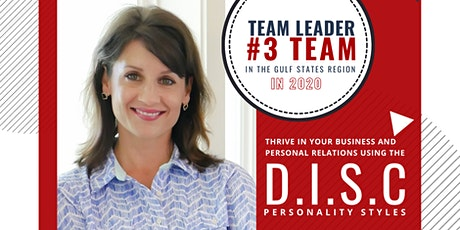 Copy of Thrive In Your Business & Personal Relations using the D.I.S.C. tickets