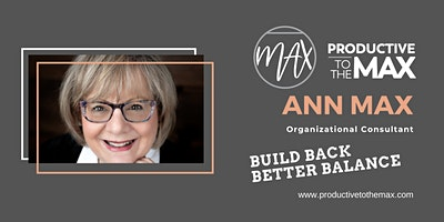 Build Back Better Balance: The Path to a New Normal – Organizational Change