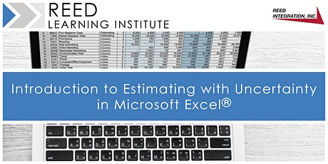 Intro to Estimating with Uncertainty in Microsoft Excel® tickets