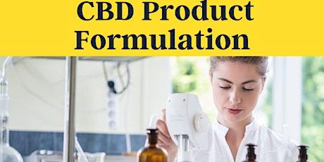 Masterclass: CBD Product Formulation Best Practices tickets