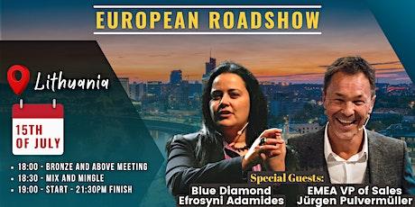Roadshow Featuring European VP of Sales Jurgen and Blue Diamond Efrosyni tickets