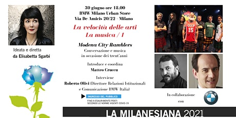Milanesiana21: Modena City Ramblers - BMW Milano Urban Store biglietti