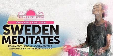 Sweden Meditates @ Yoga-festival för mental hälsa biljetter