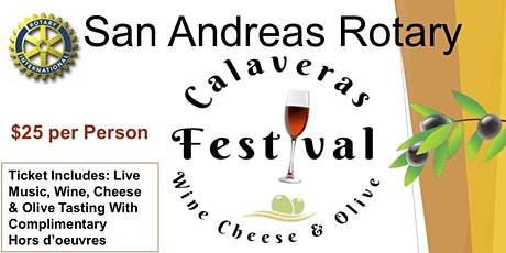 4th Annual Calaveras Wine, Cheese and Olive Festival tickets
