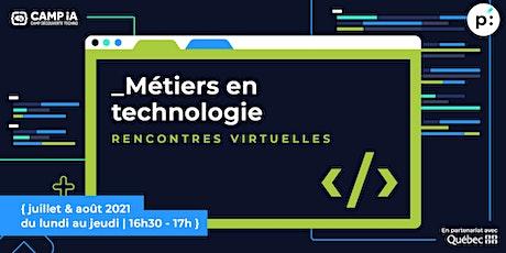 Métiers en technologie: Alain Lavoie - PDG (LexRock AI Technologies Inc.) tickets