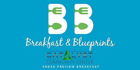 Breakfast + Blueprints tickets
