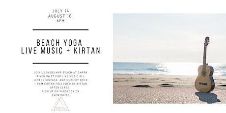 Beach Yoga with Live Music + Kirtan tickets