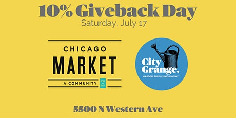 City Grange Giveback Day to Support Chicago Market tickets