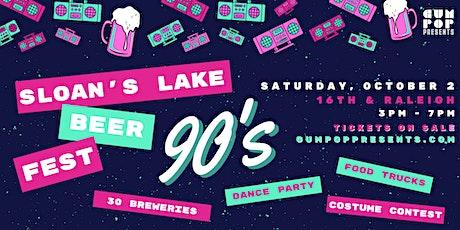 Sloan's Lake Beer Fest 2021 tickets