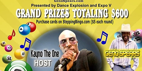 Musical Bingo with Geno Spears tickets