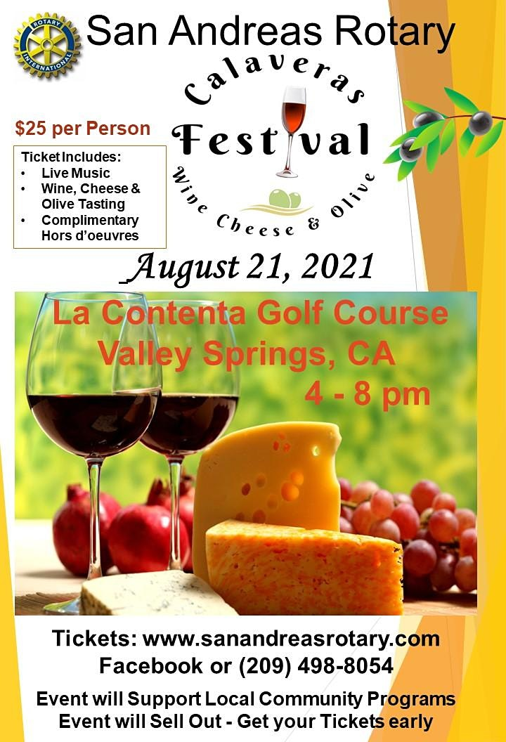 4th Annual Calaveras Wine, Cheese and Olive Festival image