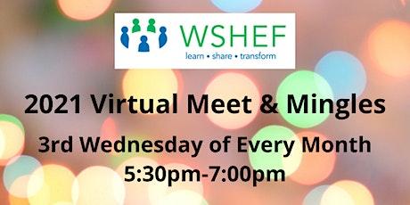 WSHEF Meet & Mingle via Zoom:   August 18th tickets