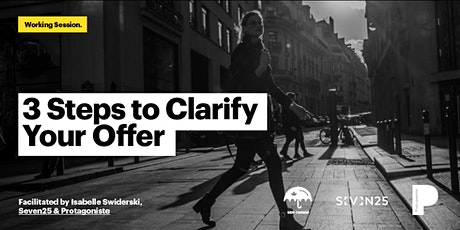 3 steps to clarifying your social enterprise's offer tickets