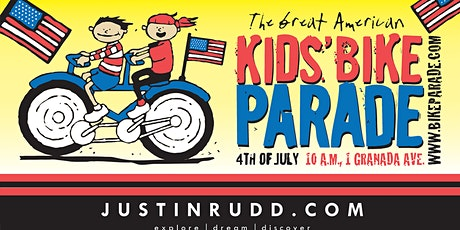 2021 Great American 4th of July Kids Bike Parade - free entry tickets