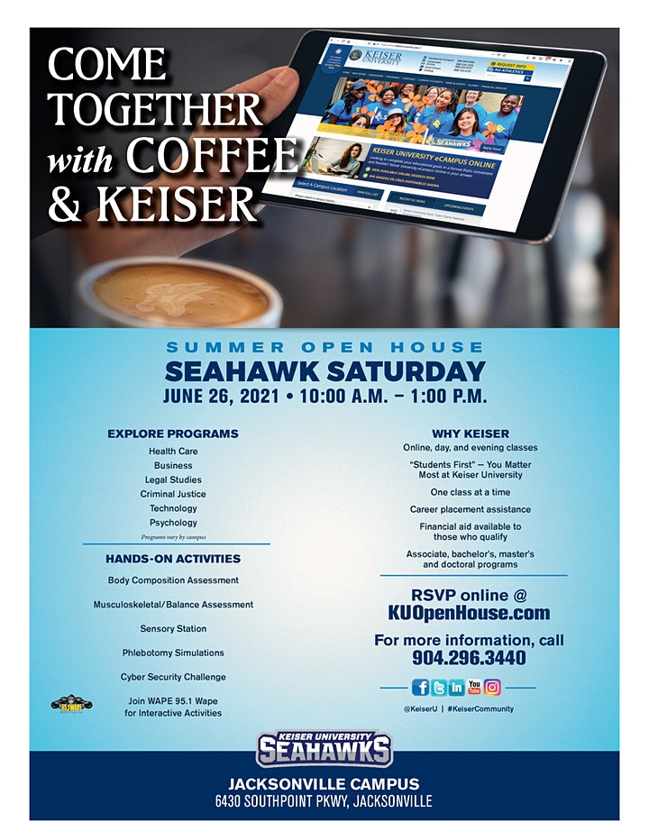 Come Together With Coffee & Keiser image