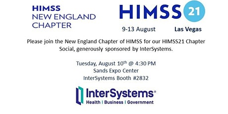 HIMSS21: New England HIMSS Chapter Social tickets