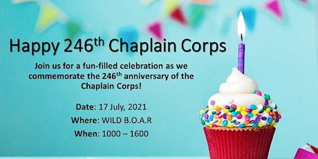Chaplain Corps Anniversary Celebration Tickets