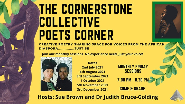 Voices from the African Diaspora - The Cornerstone Collective Poets Corner image