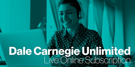 Dale Carnegie Unlimited Subscription- Demo Meeting tickets