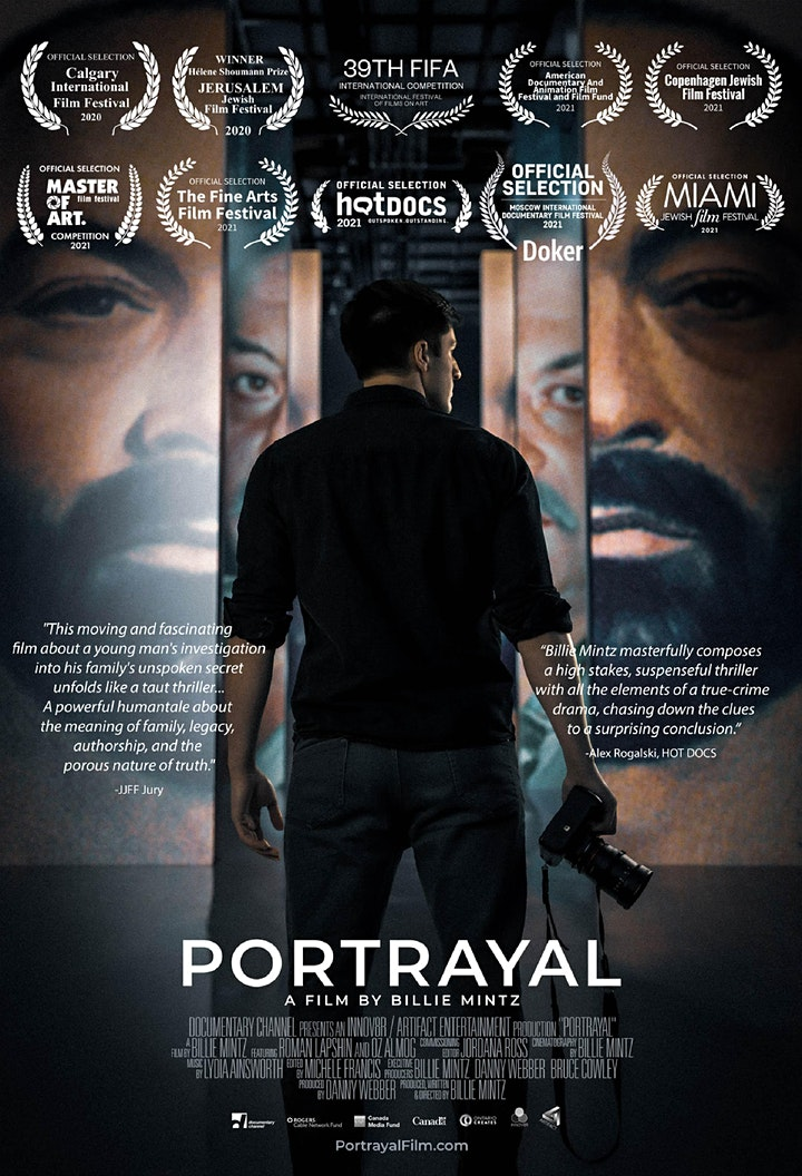 'Portrayal' Documentary: Hot Docs Summer Screening Series image