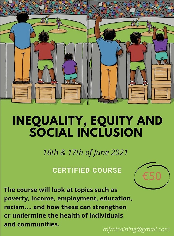 Inequality, Equity and Social Inclusion image