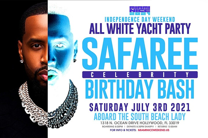 SAFAREE BIRTHDAY BASH AND INDEPENDENCE DAY WEEKEND image