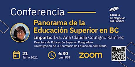Panorama de la Educación Superior en Baja California entradas