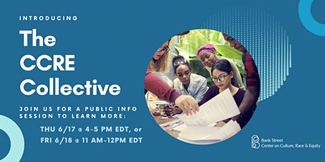 The CCRE Collective: Public Information Session tickets