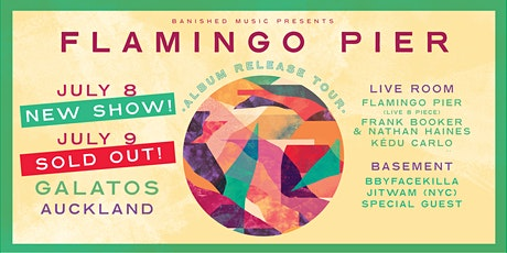 Flamingo Pier album release show AUCKLAND tickets