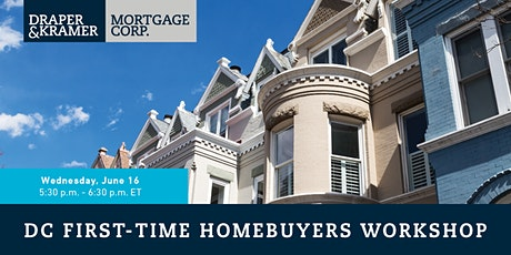 DC FIRST-TIME HOMEBUYERS WORKSHOP tickets
