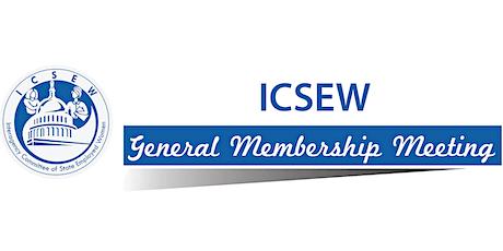 ICSEW Meeting - July 20, 2021 (Online) tickets