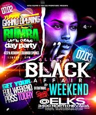 7TH ALL BLACK AFFAIR WEEKEND tickets