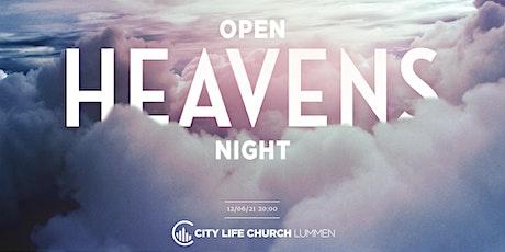 OPEN HEAVENS NIGHT tickets