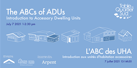 The ABCs of Accessory Dwelling Units tickets