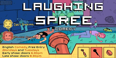 FREE ENTRY English Comedy Show - Laughing Spree 21.06. - LATE SHOW tickets